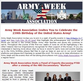 Army Week Association Joins i-media Roster