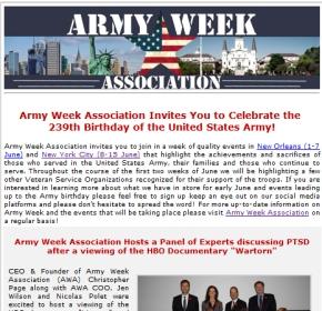 Army Week Association Joins i-mediaRoster
